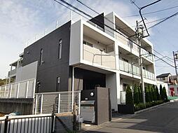 東京都八王子市兵衛2丁目の賃貸マンションの外観