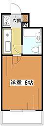 MAC久米川コート[4階]の間取り