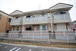 大阪府堺市中区平井の賃貸アパートの外観