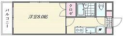 ピュア松香台[301号室]の間取り
