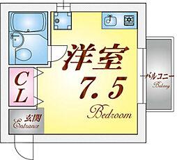 湊川第3マンション[1階]の間取り