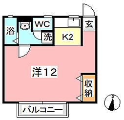 アイビー88[1階]の間取り