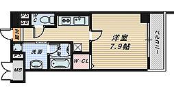 大阪府堺市堺区戎之町東3丁の賃貸マンションの間取り