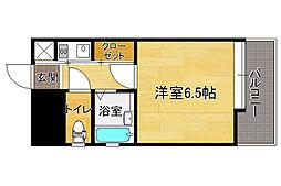 ピュアドーム高宮アーネスト[9階]の間取り