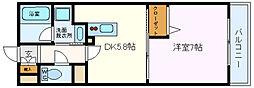 Casa Despacio/カーサ デスパシオ[107号室]の間取り