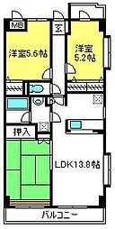 ベリエ本郷[1階]の間取り