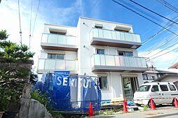 大阪府豊中市熊野町4丁目の賃貸アパートの外観