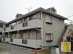 千葉県船橋市藤原7丁目の賃貸アパートの外観