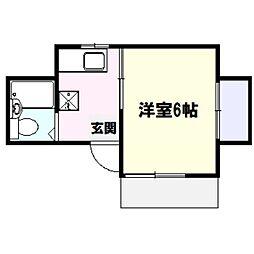 コートヴィレッジ戸塚[1階]の間取り