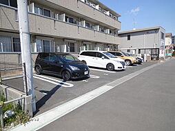 サンハイムの駐車場