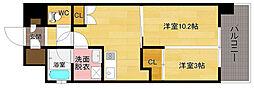 アーバントップ・アネックス[9階]の間取り