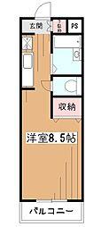 センチュリー小平[3階]の間取り