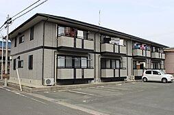 愛知県豊川市中野川町1丁目の賃貸アパートの外観