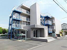 神奈川県厚木市妻田西2丁目の賃貸マンションの外観