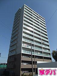 愛知県豊田市小坂本町5丁目の賃貸マンションの外観