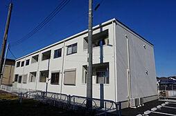 栃木県小山市大字千駄塚の賃貸アパートの外観