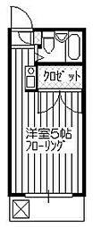 ソリティア所沢第2[203号室]の間取り
