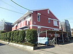 埼玉県新座市野火止4丁目の賃貸アパートの外観