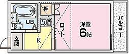 ルプレN2[1階]の間取り