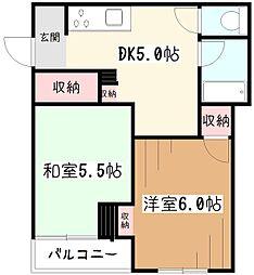 広田ビル[2階]の間取り