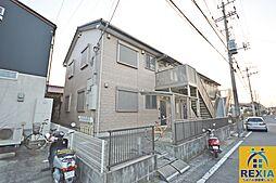 千葉県千葉市花見川区浪花町の賃貸アパートの外観