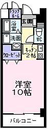 東京都青梅市河辺町10の賃貸マンションの間取り