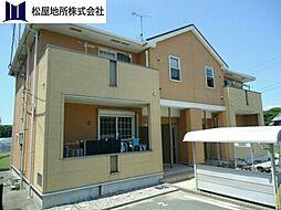 愛知県豊橋市大崎町字安平の賃貸アパートの外観