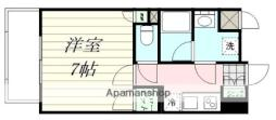 エルスタンザ広瀬通RESIDENCE 7階1Kの間取り