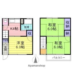 中野栄駅 4.2万円