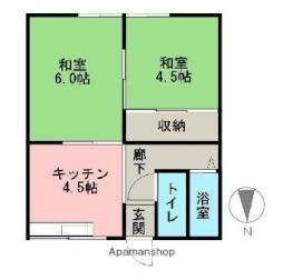 六十谷駅 2.4万円