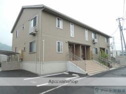 バス 高尾田下車 徒歩18分の賃貸アパート