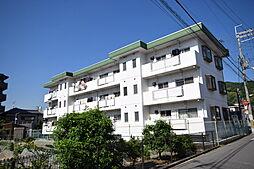 大阪府柏原市法善寺2の賃貸マンションの外観