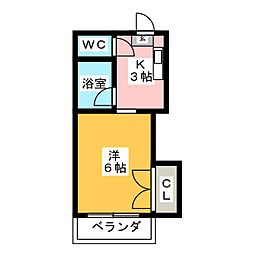 CORE8 井尻[1階]の間取り