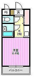 末広マンション[2階]の間取り