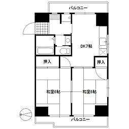 慶寿苑ビル[5階]の間取り