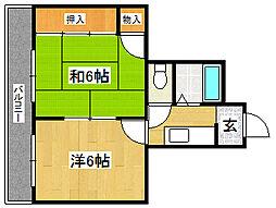 千明ビル[4階]の外観