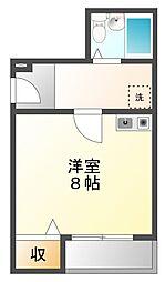 メゾントキワ曙[3階]の間取り