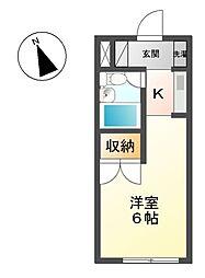 ハイツ・ネオ[3階]の間取り