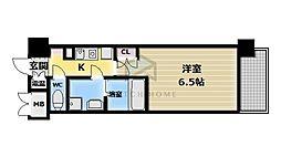 CASSIA高井田NorthCourt[8階]の間取り