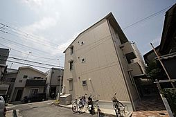 兵庫県尼崎市道意町4丁目の賃貸アパートの外観