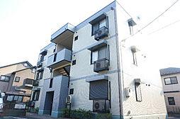 埼玉県草加市遊馬町の賃貸アパートの外観