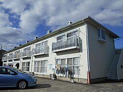 神奈川県横浜市都筑区勝田町の賃貸アパートの外観