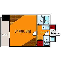 東京都江戸川区平井6丁目の賃貸マンションの間取り