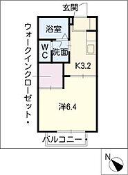 バリュージュNII[1階]の間取り