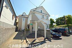 大阪府枚方市養父丘2丁目の賃貸アパートの外観