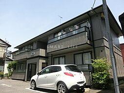 滋賀県大津市南志賀4丁目の賃貸アパートの外観