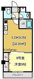 金太郎ヒルズ215[506号室]の間取り