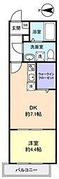 AJ八千代台[3階]の間取り
