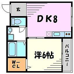 秋桜[2階]の間取り