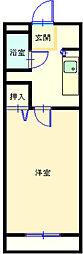 マンショングレイス[209号室]の間取り